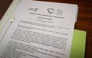 Pasirašyta nuotekų tvarkymo tinklų Ragožių k. statybos darbų sutartis